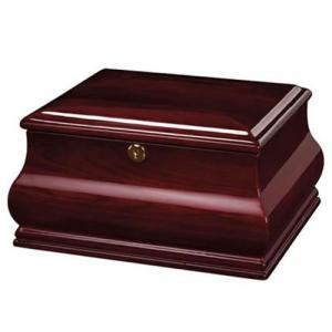 Bombay Memorial Chest Wood Cremation Urn