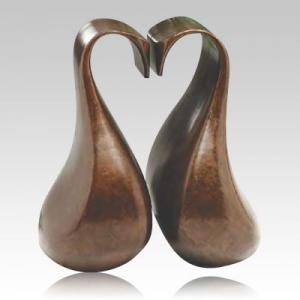 Romance Bronze Companion Cremation Urn