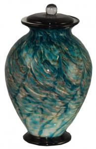 Aegean Glass Adult Cremation Urn