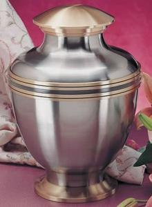 Polished Nickel Bronze Venetian Cremation Urn
