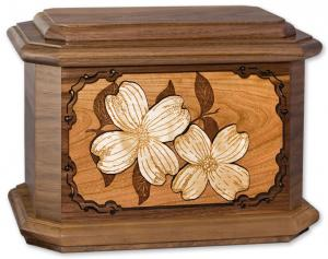 Dogwood Solid Wood Cremation Urn