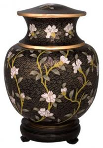 Imperial Garden Adult Cloisonne Cremation Urn