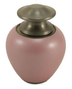 Pearl Pink Keepsake Cremation Urn