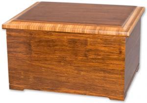 Bamboo Companion Cremation Urn