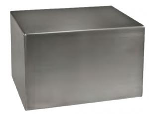 Satin Stainless Steel Companion Cremation Urn