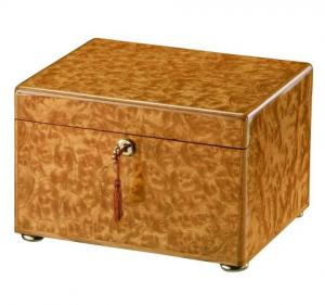 Elm Burl Memory Chest Cremation Urn