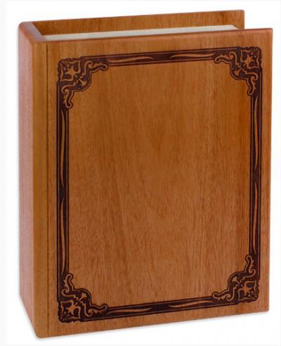Mahogany Book Cremation Urn