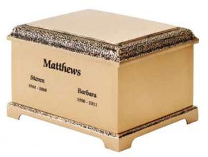 Fidelis Cast Bronze Companion Cremation Urn