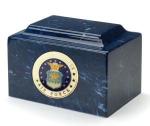 USAF Cultured Marble Urn Vault