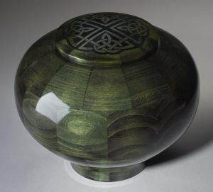 Celtic Knot Adult Wood Cremation Urn