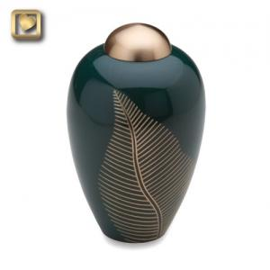 Elegant Leaf Small Pet Urn