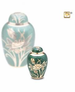 Emerald Rose Keepsake Cremation Urn