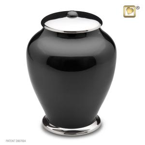 Simplicity Midnight Tall Adult Cremation Urn