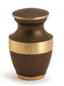Brass Rustic Bronze Keepsake Urn