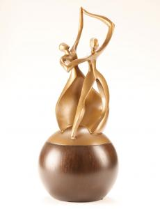 Dance of Life Cultured Cremation Urn