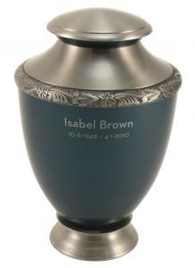 Artisan Indigo Adult Cremation Urn