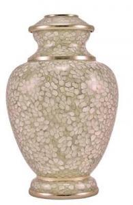 Opal Essence II Cloisonne Cremation Urn