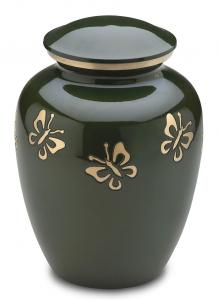 Forest Butterfly Cremation Urn
