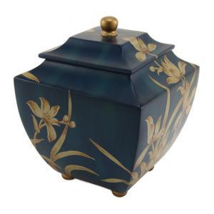 Orchid Indigo Adult Cremation Urn