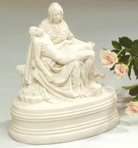 Michelangelo Pieta Cold Cast Cremation Urn