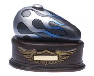 Biker Gray Born to Ride Cremation Urn
