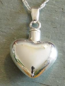 Large Heart Keepsake Cremation Urn