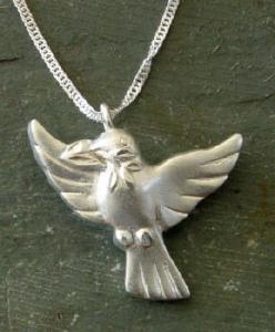 Dove Open Wings