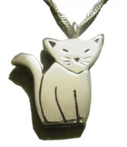 Cat Cremation Urn Necklace