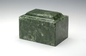 Emerald Cultured Marble Urn Vault