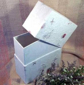 Simplicity Biodegradable Floral Cremation Urn